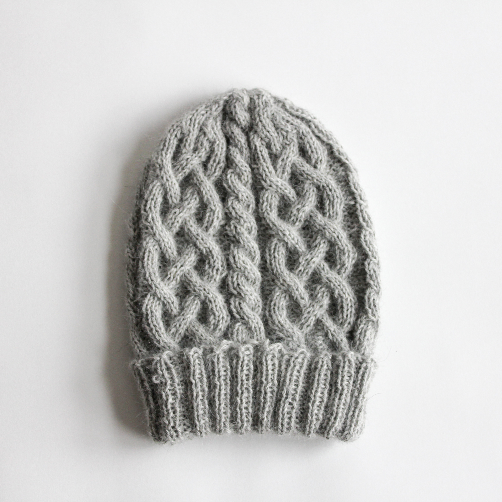 Knitting Pattern Cable Hat Easy : Cable knit hat   Kevin Bickham